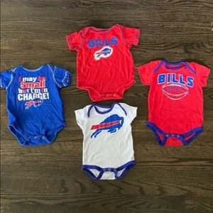 Buffalo bills onesie bundle